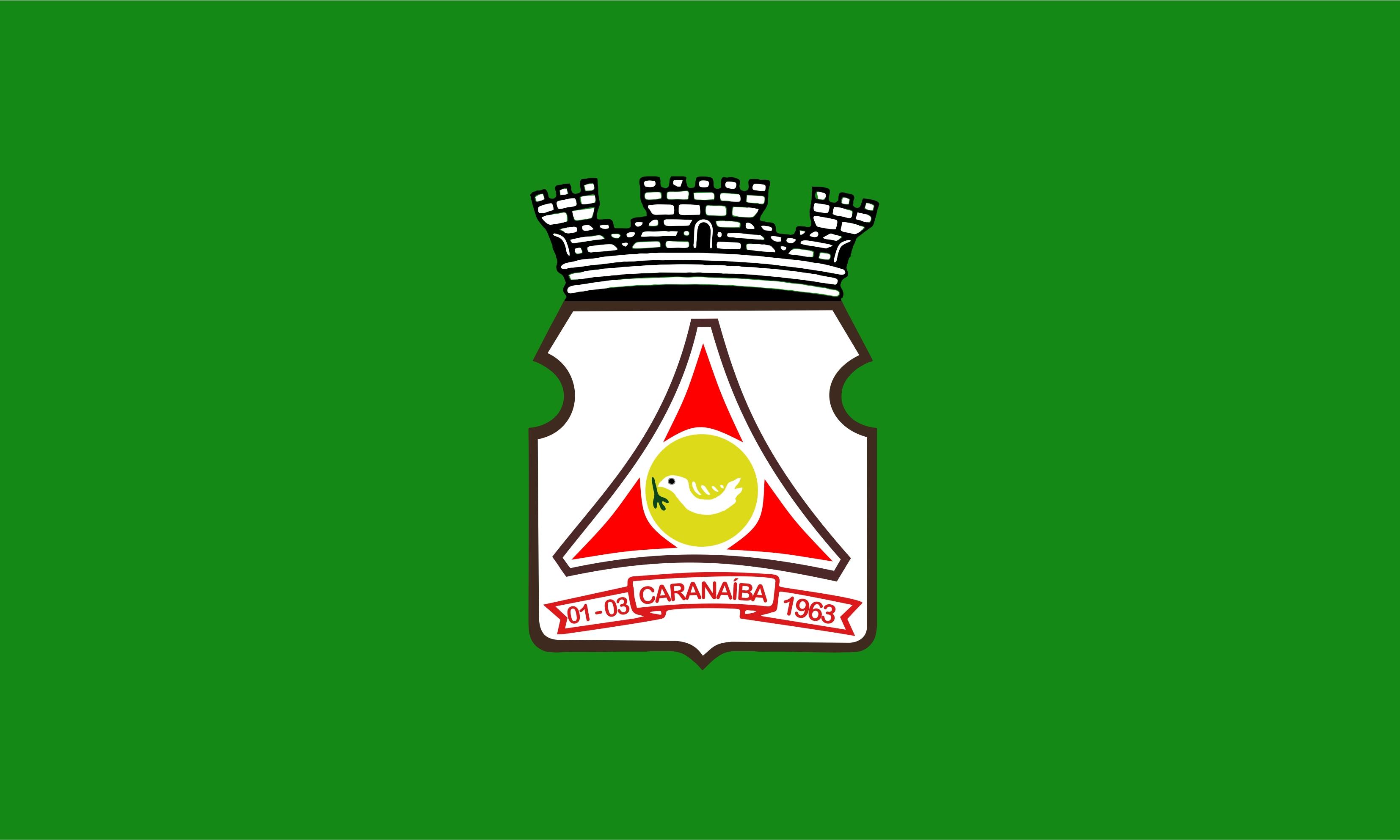 836559a06 Bandeira oficial do Município de Caranaíba